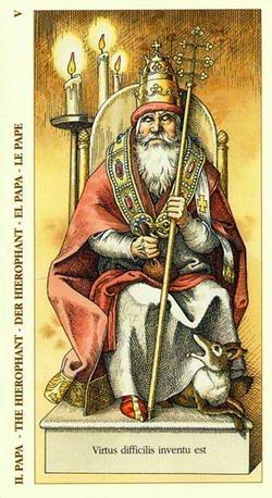 Il Papa - The Hierophant - Der Hierophant - El Papa - Le Pape