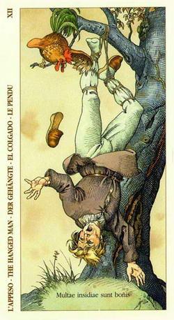 L'Appesa - The Hanged Man - Der Gehängte - El Colgado - La Pendue