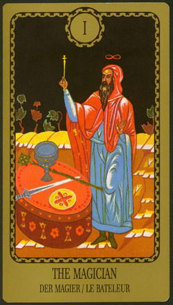 The Magician - Der Magier - La Bateleur