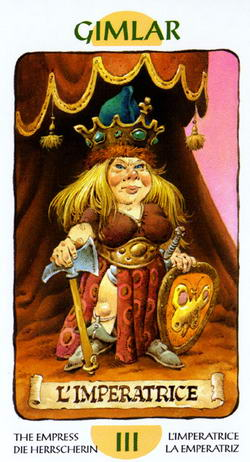 Gimlar - L'Imperatrice - The Empress - Die Herrscherin - L'Imperatrice - La Emperatriz