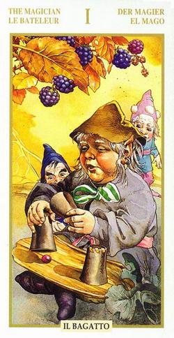 The Magician - La Bateleur - Der Magier - El Mago - Il Bagatto