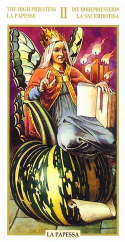 The High Priestess - La Papesse - Die Hohepriesterin - La Sacerdotisa - La Papessa