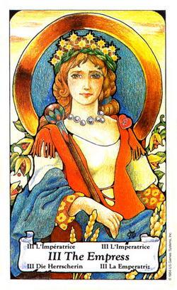 The Empress - L'Imperatrice - Die Herrscherin - L'Imperatrice - La Emperatriz
