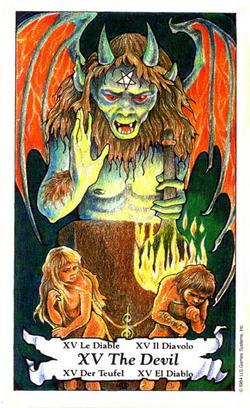 The Devil - Le Diable - Der Teufel - Il Diavolo - El Diablo