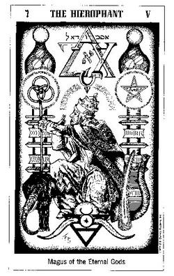 The Hierophant - Magus of Eternal Gods