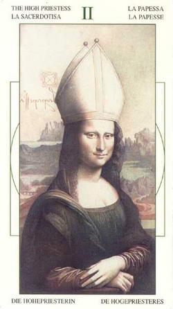 The High Priestess - La Sacerdotisa - La Papessa - La Papesse - Die Hoherpriesterin - De Hogepriesteres