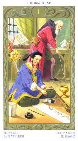 The Magician - Il Mago - La Bateleur - Der Magier - El Mago