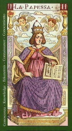 La Papessa - Conoscenza - Knowledge - Erkenntnis - Connaissance - Conocimiento