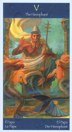 The Hierophant - Il Papa - Le Pape - El Papa - Der Hierophant