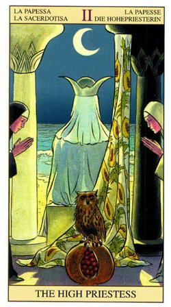 La Papessa - La Sacerdotisa - La Papesse - Die Hohepriesterin - The High Priestess