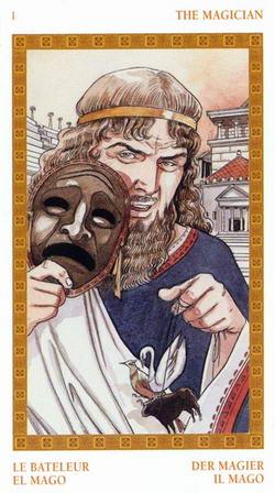 The Magician - La Bateleur - El Mago - Der Magier - Il Mago