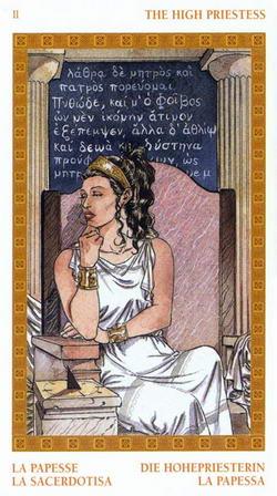 The High Priestess - La Papesse - La Sacerdotisa - Die Hohepriesterin - La Papessa