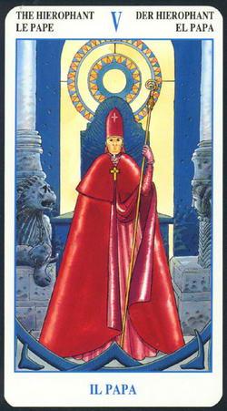 The Hierophant - Le Pape - Der Hierophant - El Papa - Il Papa